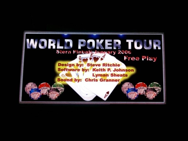 Custom Card for World Poker Tour, transparent