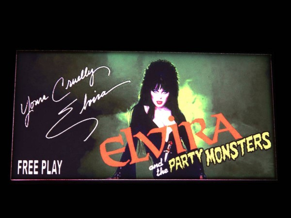 Custom Card for Elvira and the Party Monsters, transparent