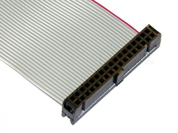 "Ribbon Cable 34pin, 38cm (15""), 2 Connector"
