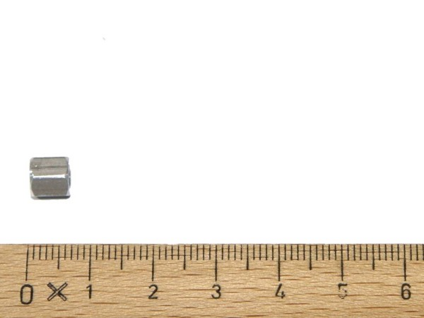 """Hex spacer 1/4"""" f-f 6-32 x 1/4"""""""