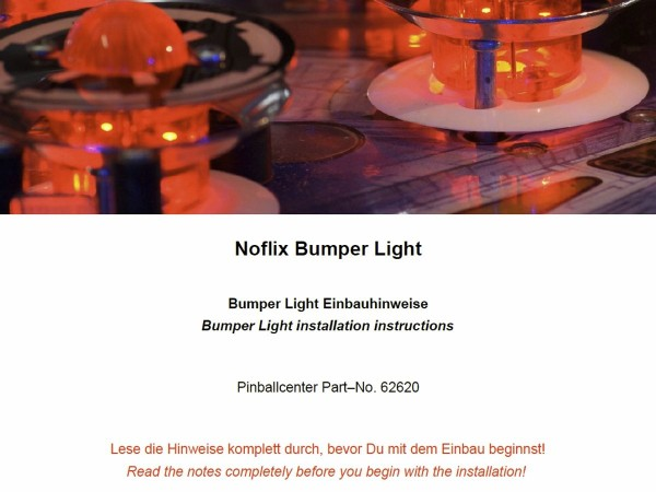 Noflix Bumper Light Installation