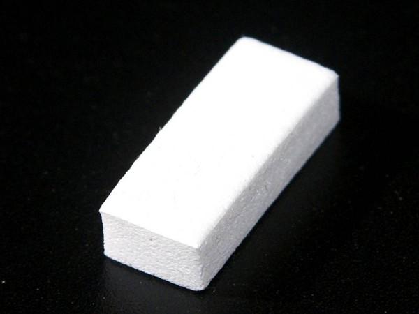 Target Buffer white - Foam, self-adhesive (10 Pack)