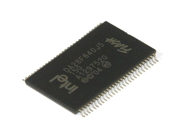 IC Intel DA28F640J5150, Flash Speicher