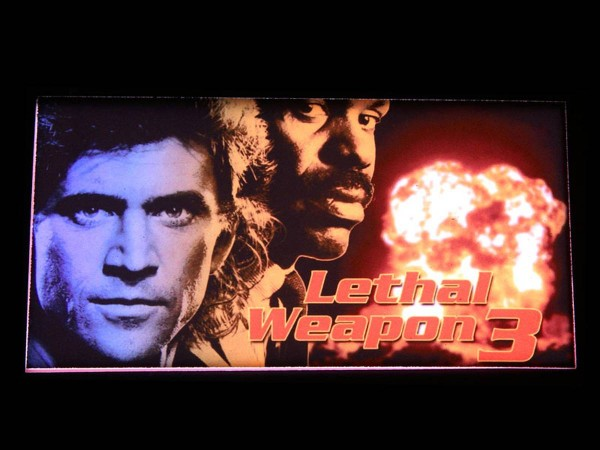 Custom Card for Lethal Weapon 3, transparent