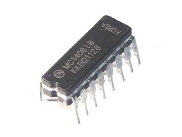 IC MC1408, D/A Converter