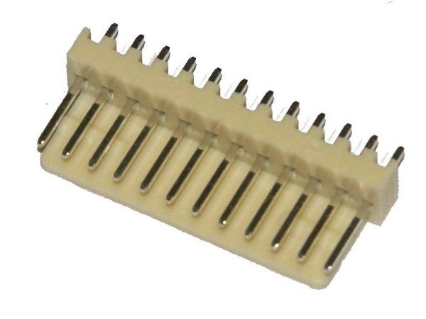 "Board Connector, 12 Pin, .1"" (2.54mm)"