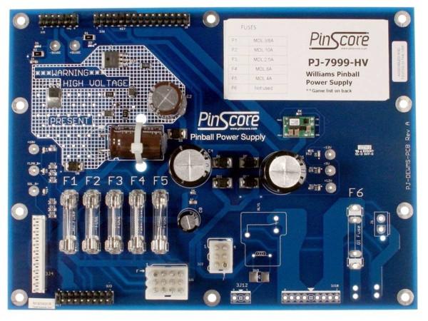 PinScore Power Supply für Williams System 3, 4, 6