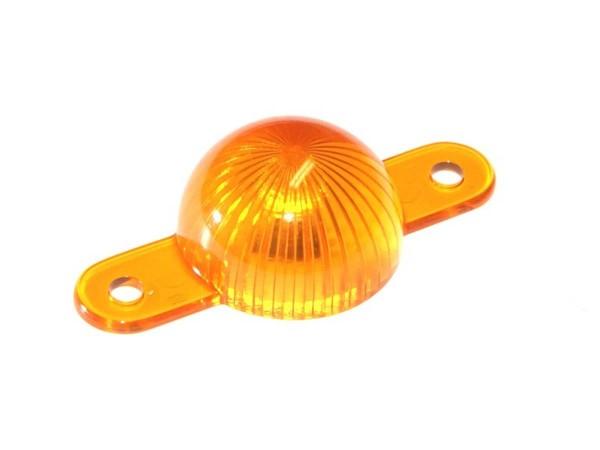 Mini Flasher Dome, Starburst orange (03-8662-12)