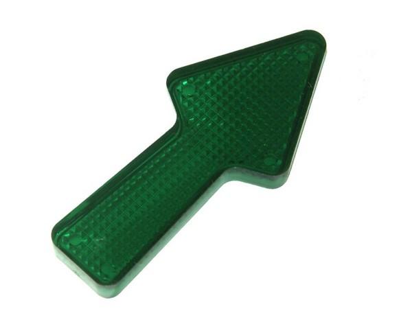 "Insert 2,5"" Pfeil, grün transparent"