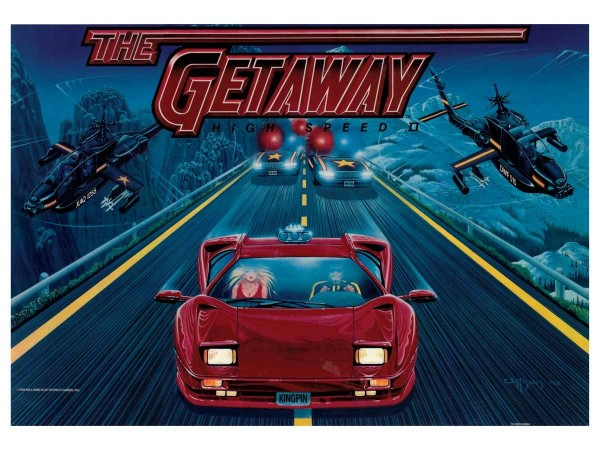 Translite for The Getaway