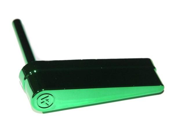 Flipperfinger mit Williams Logo, grün metallic