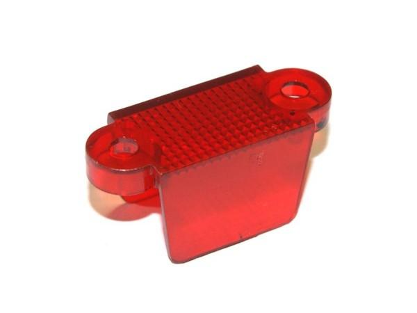 "Durchlauf 1-3/4"", rot transparent doppelseitig (03-8318-9)"