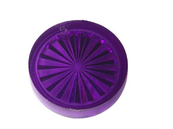 """Insert 1"""" rund, purple transparent """"Starburst"""""""