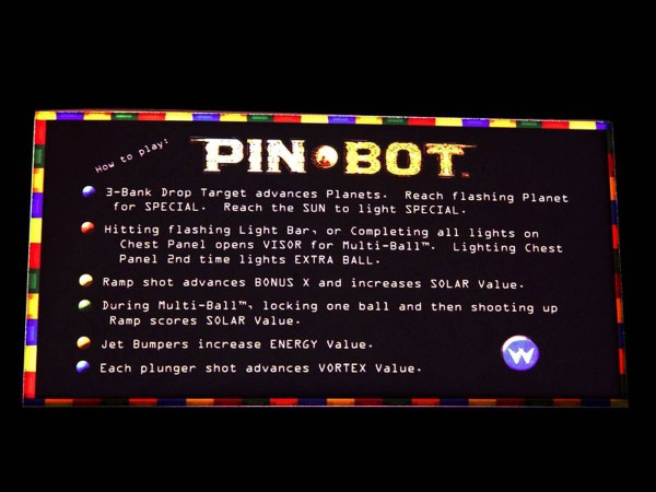 Instruction Card 2 for Pin-Bot, transparent