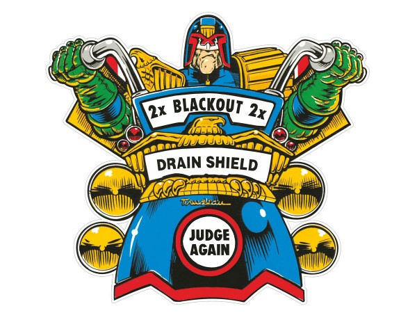 Judge Again Overlay for Judge Dredd