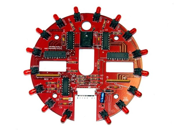 Red LED Mothership Board for Attack from Mars