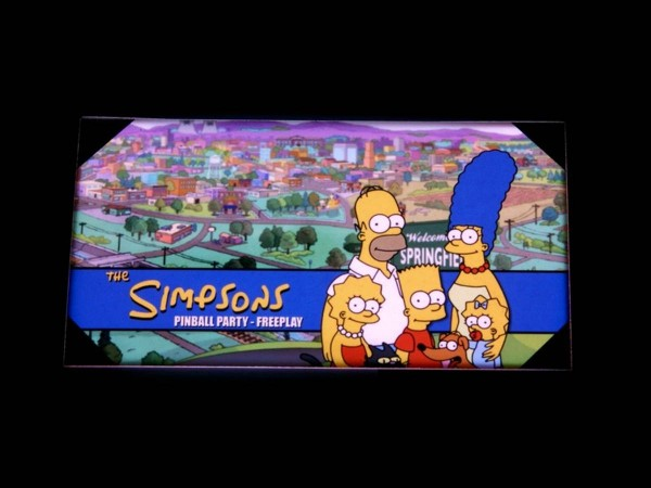 Custom Card for The Simpsons Pinball Party, transparent