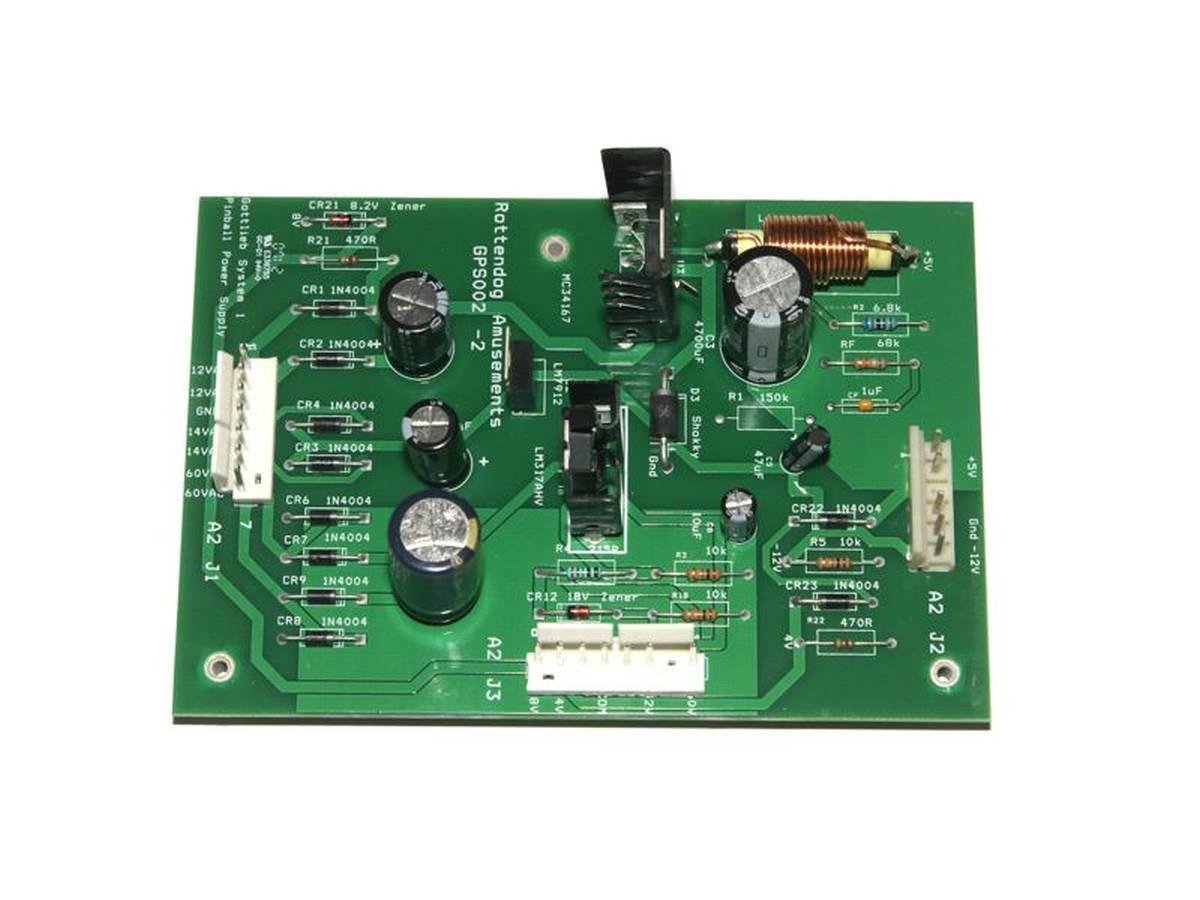 Poker machine circuit boards