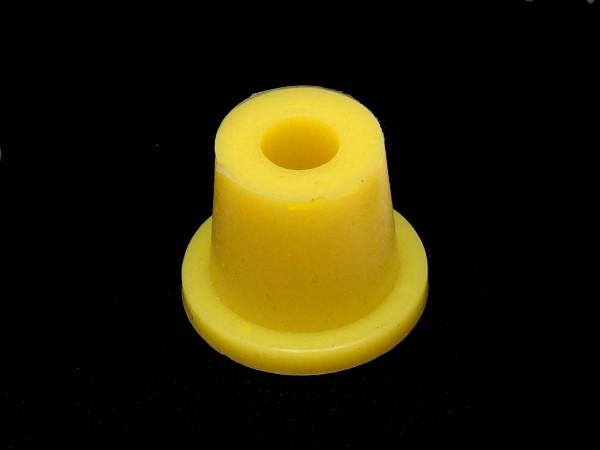 Post Sleeve - premium yellow, tapered