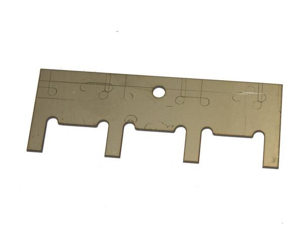 Drop target reset 4-Bank plate