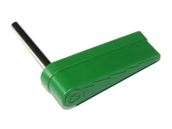 Flipperfinger mit Blitz, grün