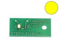 LED Board yellow, single (Stern 520-5307-00)