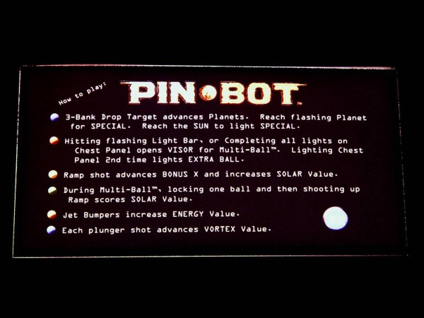 Instruction Card 1 for Pin-Bot, transparent