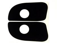 Protective Foil Flipperbutton - black