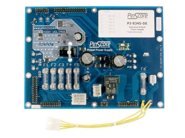 PinScore Power Supply for Data East, Sys 1-3, HV