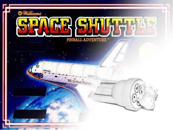 Noflix LED Playfield Kit for Space Shuttle