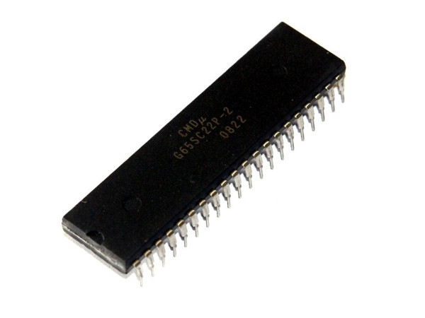 IC G65SC22P-2, Microprocessor