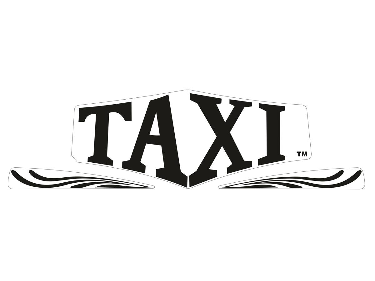 topper decal for taxi