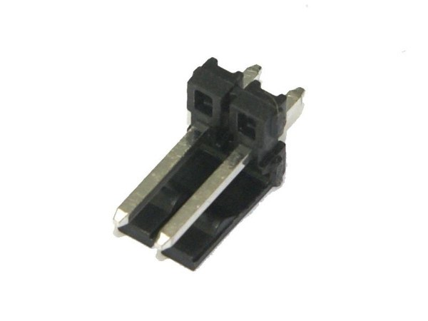 "Connector Header (Locking), 2 Pin, 0.156"""