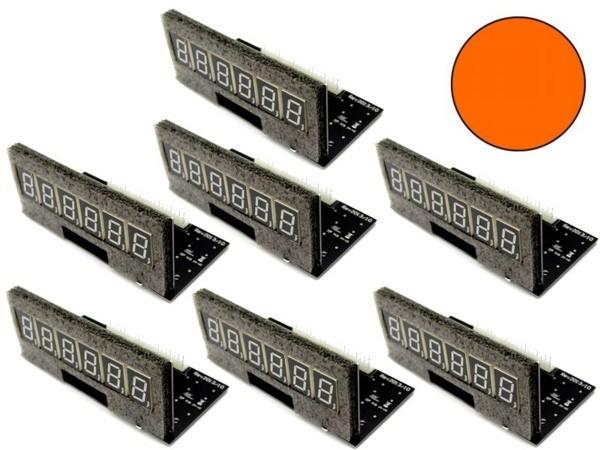 Pinballcenter Flipper Display Set 4, orange