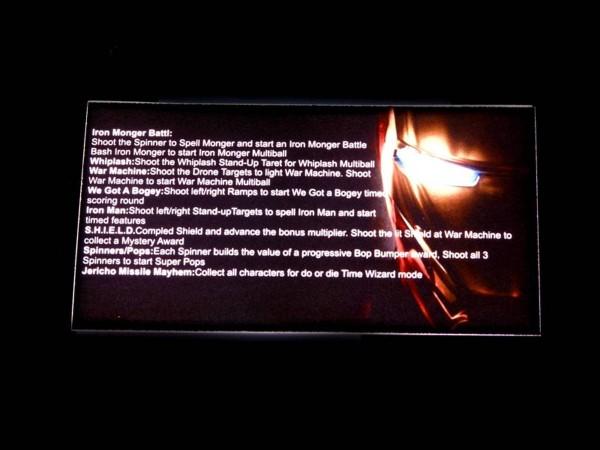 Instruction Card 1 for Iron Man, transparent