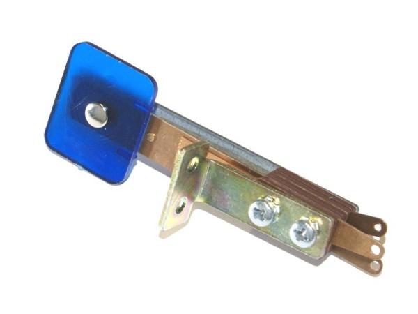 Standup Target blue transparent, rectangular
