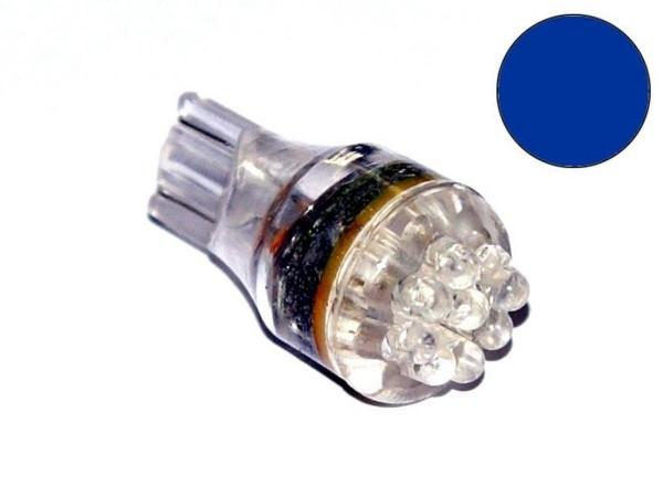 """T10 Noflix Flasher """"LED"""" blau"""