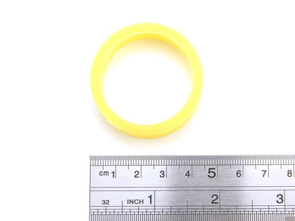 Flipper Rubber - premium light yellow