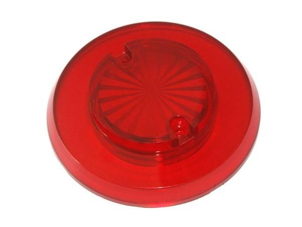 "Pop Bumper cap ""Sun burst"" - red transparent"
