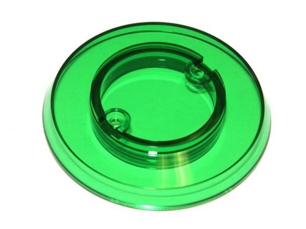 Pop Bumper cap - grün transparent