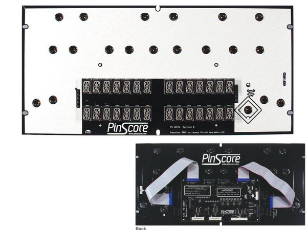 PinScore Flipper LED Display für Williams Banzai Run