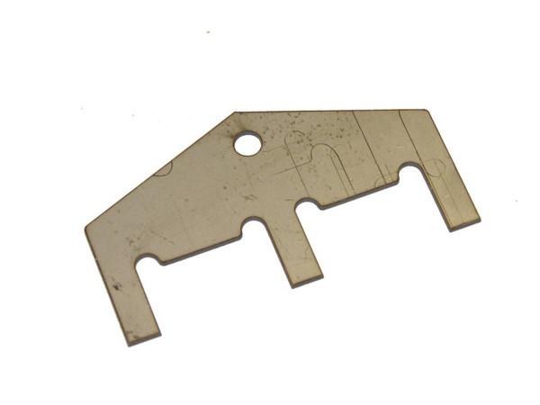 Drop target reset 3-Bank plate, Williams 01-8408