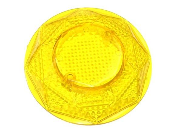 Pop Bumper cap - yellow transparent (Data East, Sega, Stern)