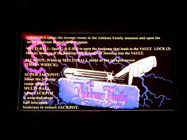 Instruction Card for The Addams Family (2), transparent