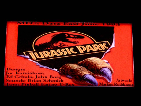 Custom Card 2 for Jurassic Park, transparent
