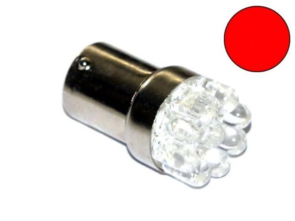 "BA15s Noflix Flasher ""LED"" red"