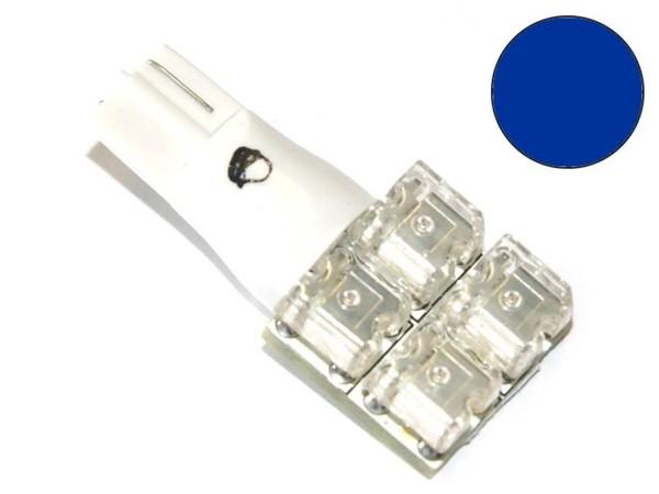 """T10 Noflix Flasher """"Superflux Flat"""", blau"""