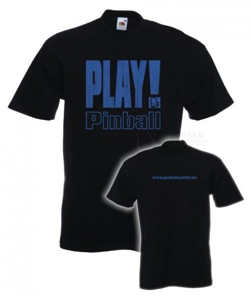 """Kids T-Shirt """"Play Pinball"""" - 152, black"""