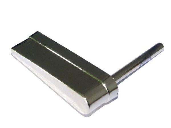 Flipperfinger ohne Logo, chrome