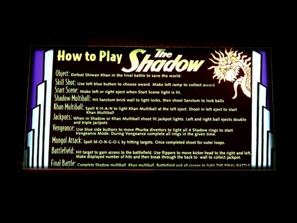 Instruction Card for The Shadow, transparent